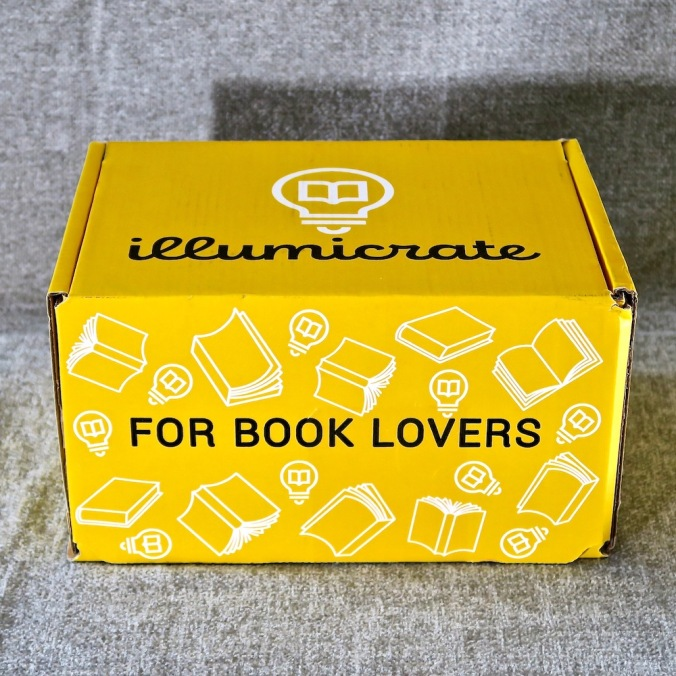 Yellow Illumicrate box unopened.